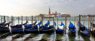 Gondola, kanały Wenecja, Włochy zdjęcie royalty free