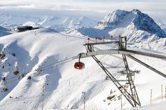 Gondola in Kitzbuel Stock Image