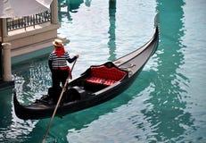 Gondola a Las Vegas Fotografia Stock