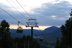 Gondola Lift Stock Photography