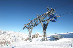 Gondola lift Royalty Free Stock Photos