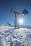 Gondola lift Royalty Free Stock Images