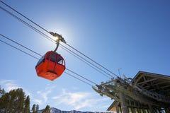 Gondola lift Royalty Free Stock Photography