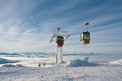 Gondola Lift Sweden Are Stock Photo