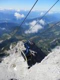 The gondola lift to the Dachstein Stock Image