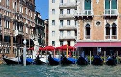 Gondola is the main transport in Venice Stock Photo
