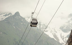 Gondola in the mountains Stock Photos
