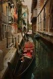Gondola old Venise Stock Image