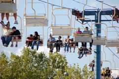 Gondola at the Oregon State Fair Royalty Free Stock Images