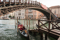 Gondola parking Stock Photography