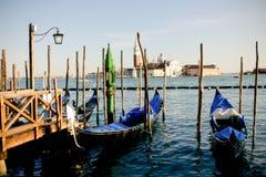 gondola parkowy Venice Obraz Royalty Free