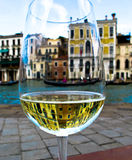 Gondola in the Prosecco Stock Image