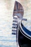 Gondola prow Stock Image