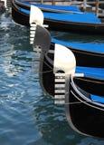 Gondola prows Stock Images