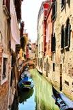 Gondola przy dokiem Fotografia Royalty Free
