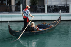 Gondola Ride royalty free stock images