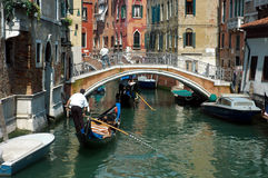 Gondola ride. Venice, Italy Stock Photos