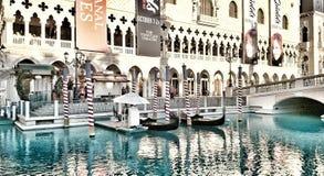Gondola Ride in Las Vegas Stock Images