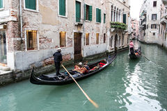 Gondola Ride Royalty Free Stock Photos