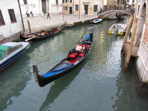 Gondola Ride in Venice Stock Photography