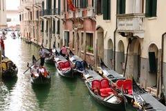 Gondola ride in Venice Stock Photos