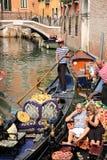 Gondola ride in Venice Royalty Free Stock Image