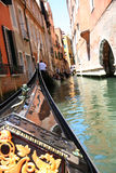 Gondola ride in Venice Royalty Free Stock Photography