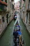 Gondola ride in Venice, ITALY. Stock Photography
