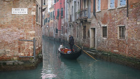 Gondola ride Royalty Free Stock Photography