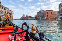 Gondola ride in Venice Stock Images
