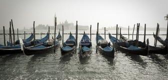 gondola rząd Zdjęcie Royalty Free