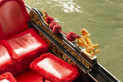 Gondola Seahorse Detail Stock Photography