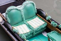Gondola Seats Royalty Free Stock Photography