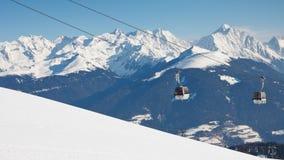 Gondola Ski Lift royalty free stock images