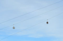 Gondola Ski Lift Destination Heaven Stock Photography