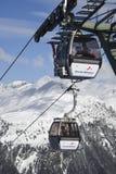 Gondola ski lift Gaschurn Stock Image