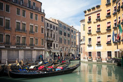 Gondola Sstation Bacino Orseolo Royalty Free Stock Image