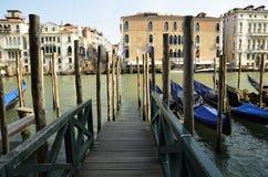 Gondola stop Stock Image
