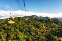Gondola Taipei Taiwan di Maokong fotografia stock libera da diritti