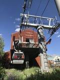 Gondola in tellururo Colorado Fotografie Stock Libere da Diritti