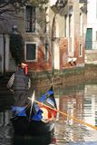 A gondola tour Royalty Free Stock Images