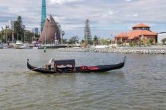 Gondola Tour in Perth Stock Image
