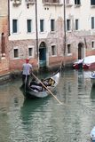 Gondola tour Royalty Free Stock Photo