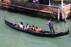 Gondola Tour in Venice Italy Stock Photo