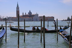 Gondola Tour in Venice Italy Stock Photography