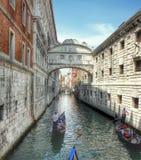 On gondola Stock Photography