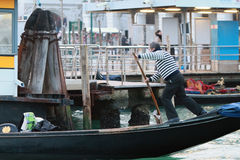 Water transport in Venice Royalty Free Stock Images