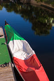 Gondola Tricolor fotografia stock
