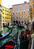 Gondola trip Stock Images