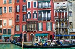 Gondola trip Royalty Free Stock Photography